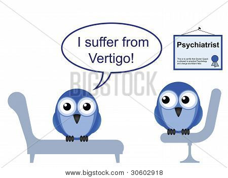 Bird doctor vertigo