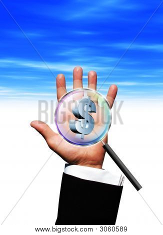 Magnify Dollar Hand