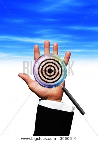 Magnify Target Hand