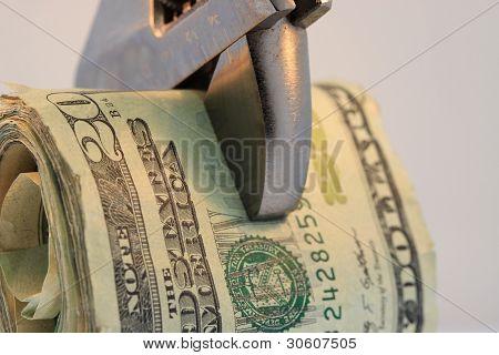 Twenty Dollar Bills on a Very Tight Budget