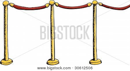Velvet Rope Barrier