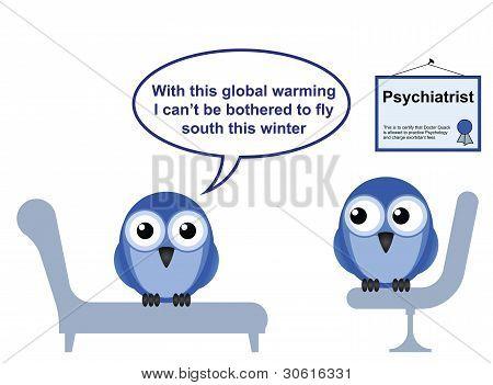 Bird doctor warming