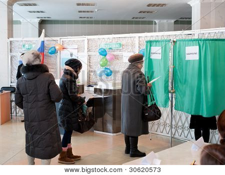 Presidential Elections In Russia