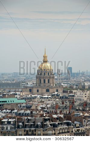 Dome Des Invalides From Paris, France