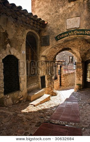 Streets of Eze France