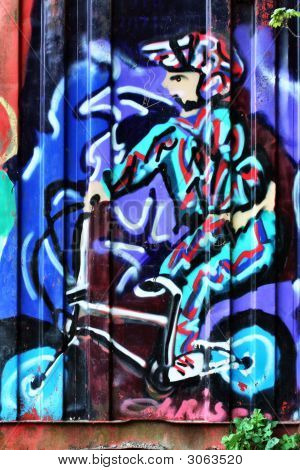 Bmx Graffiti Tag