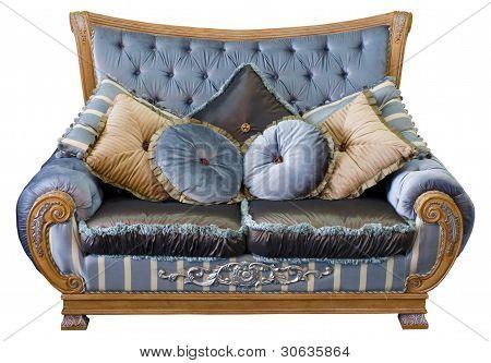 Traditional oriental sofa