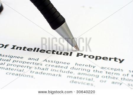 Forma de propiedad intelectual