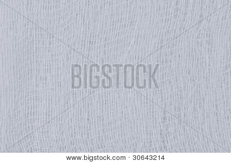 White Medical Bandage Gauze Texture, Abstract Textured Background Macro Closeup, Natural Cotton