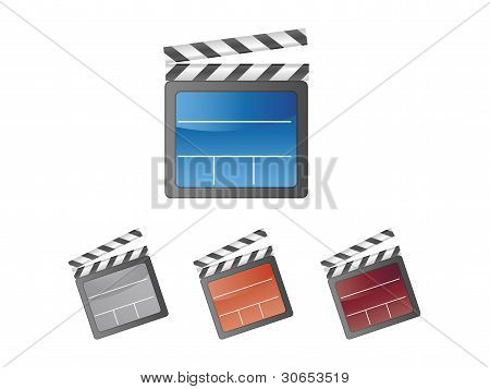 Colorful Movie clapper