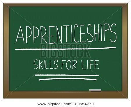 Apprenticeship Cocept.