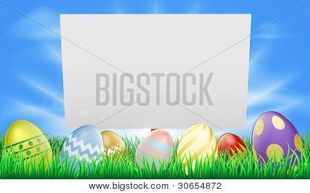 Ostern-Zeichen