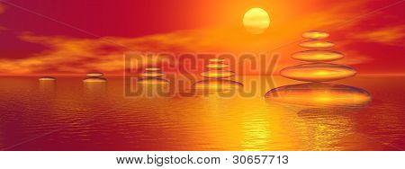 Sunset Balance