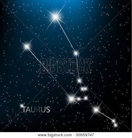 Aquarius  Zodiac sign bright stars in cosmos. Raster version