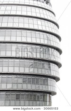 City Hall - A modern architecture building at London designed by Norma Foster