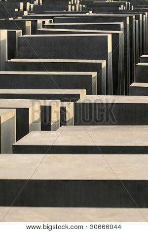 Holocaust monument in Berlin, Germany
