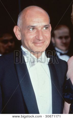 LONDON - CIRCA SEPTEMBER 1991: Ben Kingsley, British actor, attends an awards ceremony circa September 1991 in London. In 1982 he won an Oscar for his lead role in the film Gandhi.