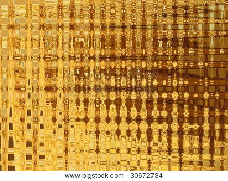 Background from gold strips