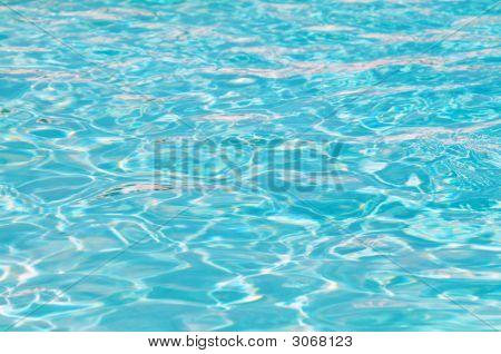 Fondo de agua de piscina