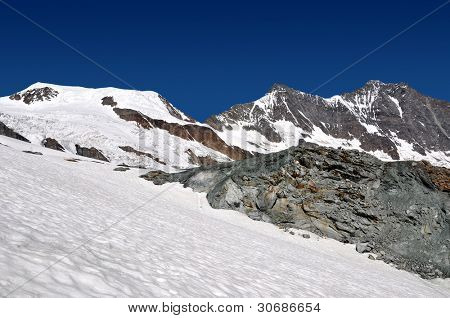 Alphubel,Dom and Taschhorn - Swiss alps