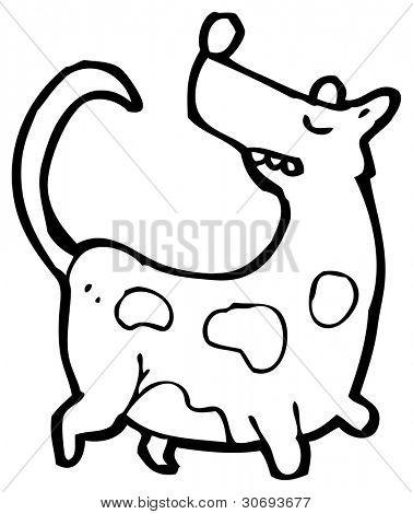 little dog cartoon