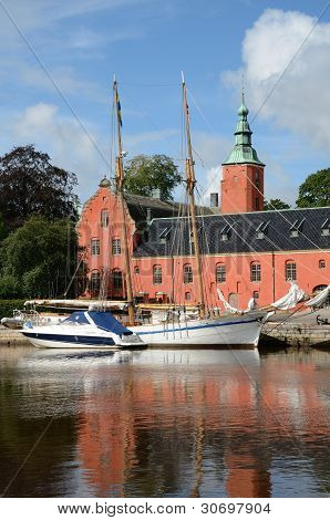 The castle of Halmstad (Swede)