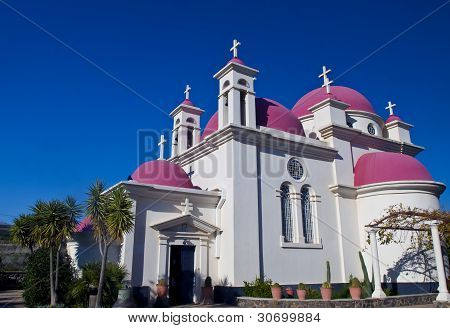 Kirche in capernahum