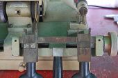 The Small Metal Handle Of The Metal Cutter Serves To Move The Metal Toward The Metal Cutting Blade. poster
