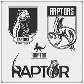 Raptor5.eps poster