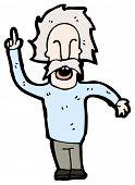 foto of einstein  - cartoon einstein - JPG