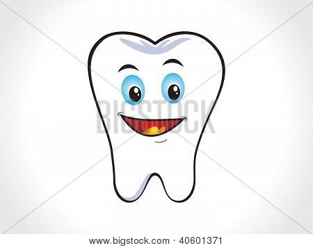 Abstract Happy Tooth
