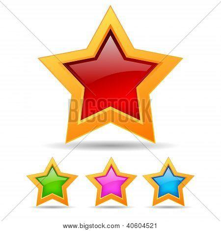 Vector stars set