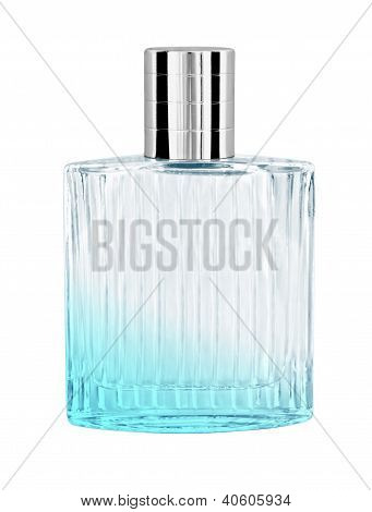 Perfume In Bottle Isolated On White