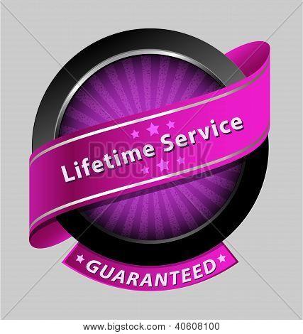 Elemento de diseño de servicio de toda la vida