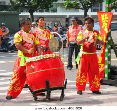 Chinese Folk Musicians