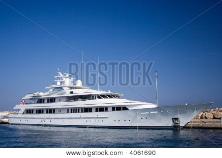 Luxury Motor Yacht.