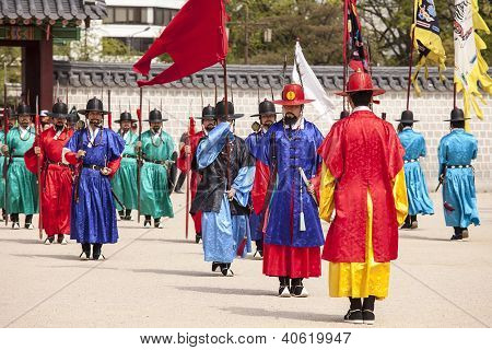 Changing Of The Guard In Korea