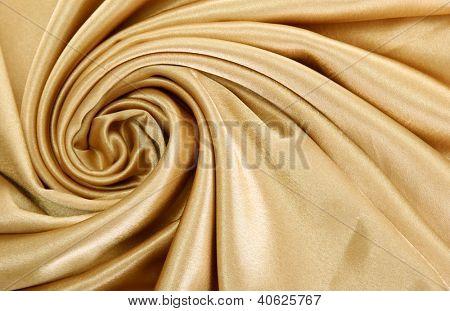 hermosa cortina de seda, close up