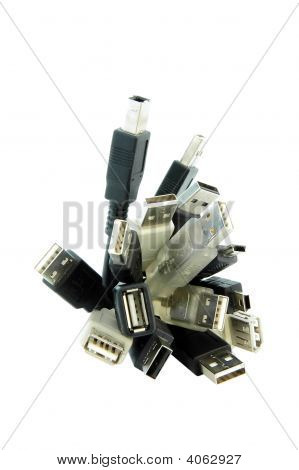 Usb Cable Bunches