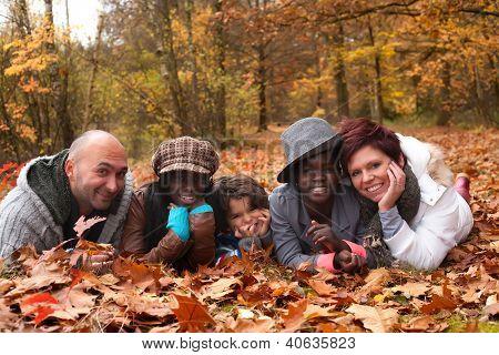 Multiracial Family