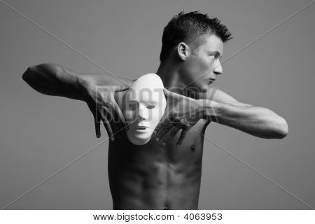 Man With Mask