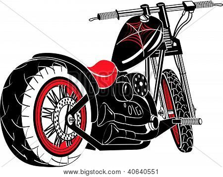 ClipArt Motorrad