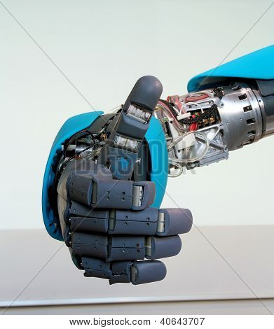 Robot Hand Gesture Meaning Okay