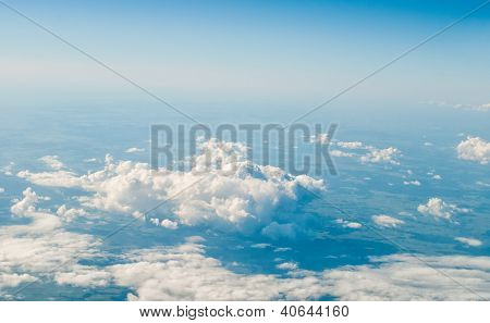 View at clouds