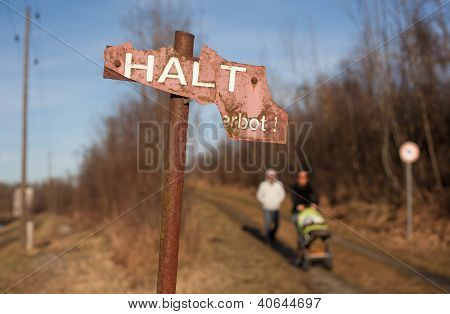 Halt, End Of The Way