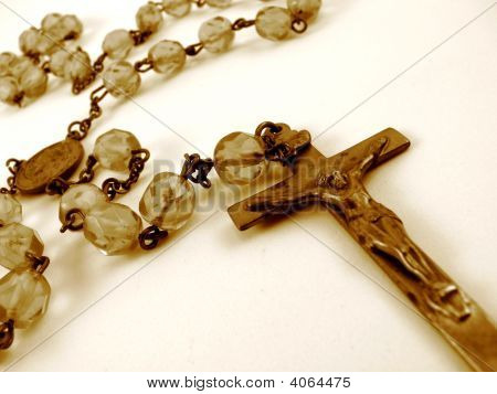 Sepia Rosary