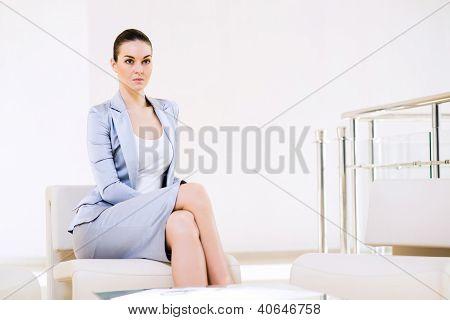 portrait successful business woman