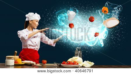 magic in the kitchen