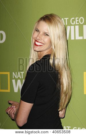 PASADENA - JAN 3: Beth Stern of the show 'Spoiled Rotten Pets' at the National Geographic Channels TCA party on January 3, 2013 at the Langham Hotel in Pasadena, California
