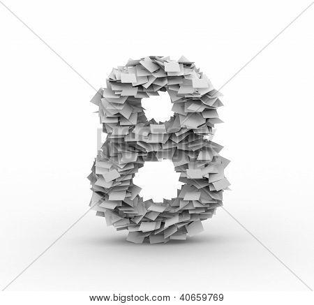 Big Pile Of Paper, Number 8